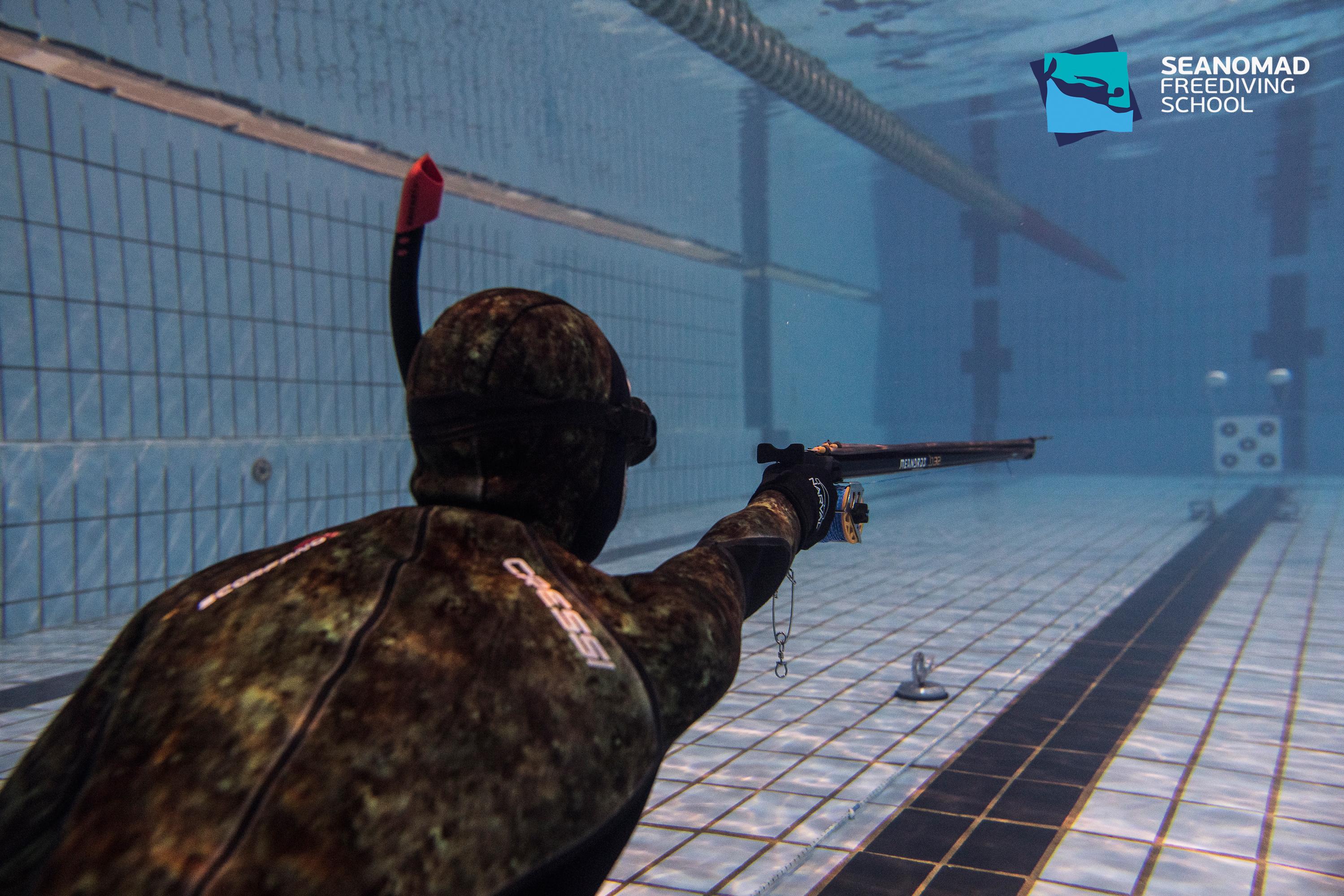 Подводна стрелба по мишени - София